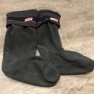 Hunter boot socks sz M/L